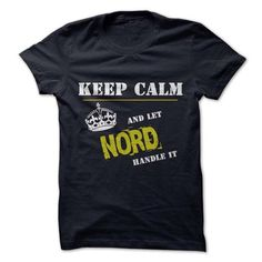 Let NORD Handle it - #shower gift #inexpensive gift. BUY TODAY AND SAVE => https://www.sunfrog.com/Funny/Let-NORD-Handle-it.html?68278