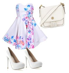 A fashion look from August 2015 featuring white floral dress and strap sandals. Browse and shop related looks. Taylor Swift Concert, White Floral Dress, Steve Madden, Night Out, Tory Burch, Fashion Looks, Formal, Polyvore Fashion, Shopping