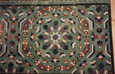 In the west of Europe, the Moors brought Islamic mosaic and tile art into the Iberian peninsula in the 8th century, while elsewhere in the Muslim world, ...