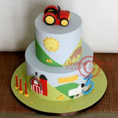 Down on The Farm... by The Well Dressed Cake, via Flickr