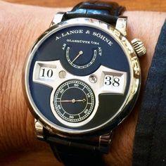 Lange Zeitwerk - Horlogerie Antoine de Macedo