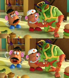 Toy Story- loved this movie so cute!