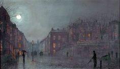 Image result for John Atkinson Grimshaw art