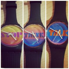 STOP THINK TALK #Swatch http://swat.ch/1at8fuo