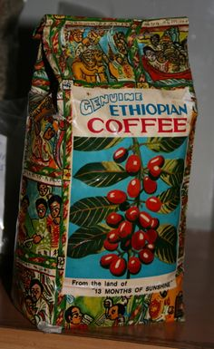 Very cool Vintage Coffee package#coffee #packaging for more information visit us at www.coffeebags.co.za