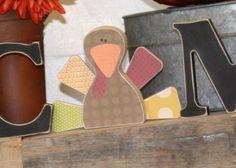 Interchangeable Welcome Letters {turkey}