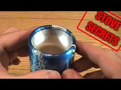 How To Make A Rolled-Edge Aluminum Bottle Stove - YouTube--Long but cool!