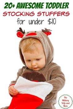 20 Perfect toddler stocking stuffers to gift this holiday season!