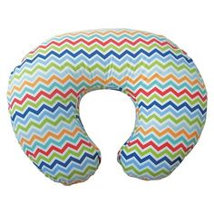 Boppy Nursing Pillow Colorful Chevron : Target