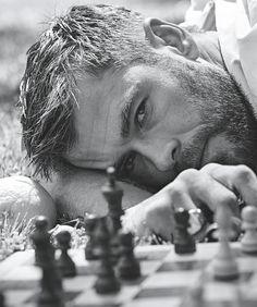 Chris Hemsworth for Australia Vogue.