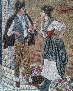 #doğaltaş #taşsanatı #dogaltas #cakiltasi #art #sanat #galerieslafayette #galeri #gallery #galleryart #stoneart #resim #tablo #boyasız… Mosaic Tile Art, Pebble Mosaic, Stone Mosaic, Complex Art, Kiesel, Marble Art, Stone Crafts, Button Art, Land Art