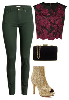 """""""Untitled #507"""" by blue-ember on Polyvore featuring H&M, Ted Baker, MICHAEL Michael Kors, women's clothing, women's fashion, women, female, woman, misses and juniors"""