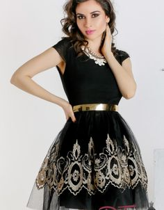 Rehearsal Dinners, Club, Formal Dresses, Black, Fashion, Embroidery, Dresses For Formal, Moda, Formal Gowns
