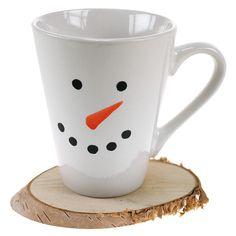 Helppo ja hauska tapa koristella jouluinen/talvinen muki vaikkapa lahjaksi!