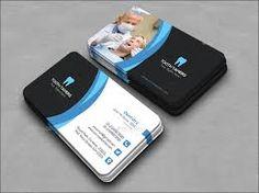 Image result for dental business card
