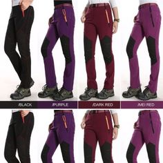 2015-NEW-Women-Lady-Waterproof-Breathable-Hiking-Mountain-Travel-Outdoor-Pants