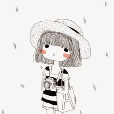by Grass Flower