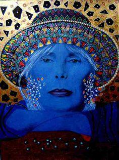 joni mitchell paintings - Buscar con Google