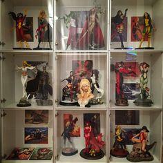 Colección de heroinas de comics