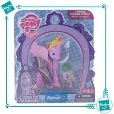 Twilght Sparkle & Spike Through the Mirror Walmart exclusive