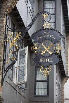 Bruges Hotel by Richard Ainsworth