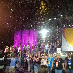 The Scentsy way... Glitter!!!  Las Vegas Scentsy Convetion 2012.