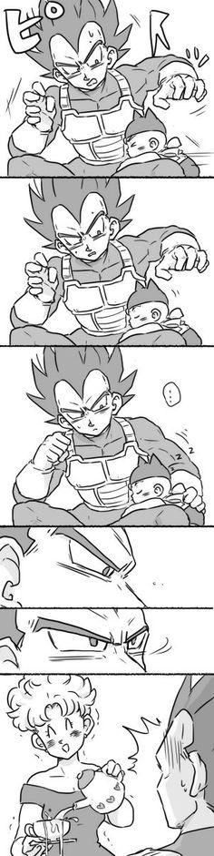 Aprendendo a ser pai... x'D