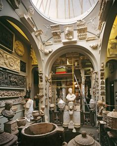 London = SIR JOHN SOANE'S MUSEUM:  The London home of the Regency architect and collector is an eternal source of inspiration.