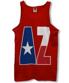 Delta Zeta Tanktop - would be so cute with the Colorado flag!