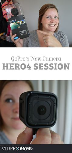 All NEW GoPro Hero4 Session! It's like a mini GoPro. Perfect for family video camera.