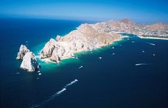 Enjoy the beautiful views of Cabo San Lucas with Baja Raiders Sport Fishing Charters.