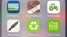 Here are 8 free apps that can help you make more ethical food choices.