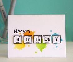 Creative Birthday Cards, Birthday Cards For Friends, Bday Cards, Happy Birthday Cards, Diy Birthday, Small Birthday Ideas, Birthday Gift Cards, Simple Birthday Cards, Father Birthday