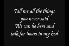 Take me with you - Secondhand Serenade