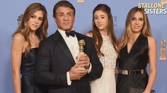 EXCLUSIVE: Sylvester Stallone's Girls on Making History at Golden Globes, and Which One ...