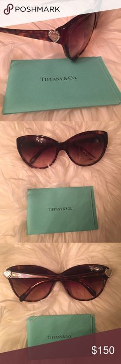 151de0899bdb Selling this Authentic Tiffany  amp  Co. Sunglasses on Poshmark! My  username is