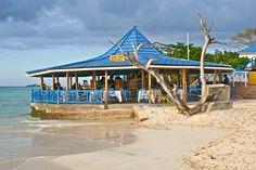 NEGRIL BEACH HUT - Negril beach-  Jamaica. Photo © 2012 Abba Yahudah
