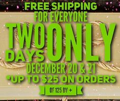 2 DAYS ONLY! Free Shipping (Saving up to $25) Today and tomorrow! For New and existing ISA peeps there will be Free shipping Today and Tomorrow ( 125 bvs or more). Perfect timing to order those goodies for our 14 Day January Jumpstart on 1/9 or to just stock up on a few of your favorites!!! Are you ready to lose weight? Would you like to have more energy? Contact me no later than tomorrow! Message me for details !!! #freeholdweightloss #newyearnewyou #weightloss