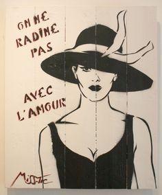 Vive l'amour fou et Sorry Alfred ( de Musset ) pour cette parodie ! / By Miss Tic.
