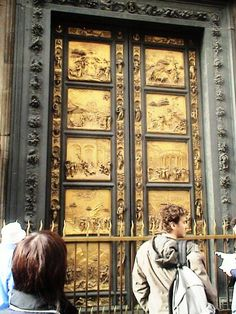 Florence Italy - Baptistery Door