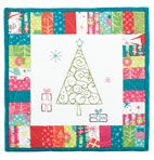 Free--Holiday Time Embridered Mini Quilt Pattern Download @ http://www.connectingthreads.com/patterns/Free_Quilting_and_Sewing_Patterns__L601021.html?showAll=yes#