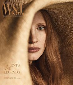 """3,654 Likes, 27 Comments - WSJ. Magazine (@wsjmag) on Instagram: """"Jessica Chastain is one of the stars gracing the cover of our first-ever Talents & Legends issue.…"""""""