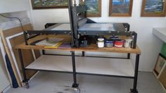 """Wright Motorized Combination Printing Press-Bed Size: 48""""x27"""" #Wright"""