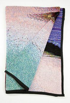 Phillip Stearns — Fall Knit Glitch Blankets | Glitch Textiles