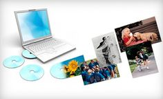 """Photo-to-DVD Scanning for 500 or 1,000 4\""""x6\"""" Photos from ScanMyPhotos.com (Up to 83% Off)"""