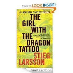 The book club girls picked The Girl with the Dragon Tattoo by Stieg Larsson for this month's read. Although I had heard of the book, I mis. I Love Books, Great Books, Books To Read, My Books, Reading Books, Reading 2014, Book 1, The Book, Book Series