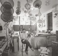 WAY WAC WA ART: Ruth Asawa, Sculptor