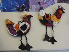 Kalevala linnut virkkaus/ crochet for beginners inspired by Kalevala Crochet For Beginners, Some Pictures, Crochet Necklace, Wreaths, Halloween, Decor, Inspired, Ideas, Decoration