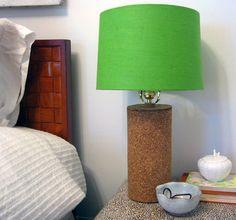 diy project: kate's cork lamps   Design*Sponge
