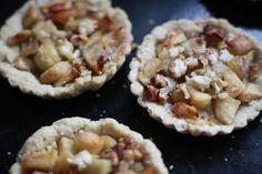 Camilla's krachttoer - : Appeltaartjes met walnoten en karamel koffieklets